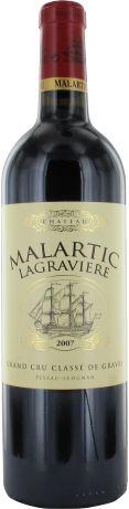 Château Malartic-Lagravière Cru Classé de Graves rouge 2007 - Pessac-Léognan - 17/20 : D'un millésime classique, c'est un vin équilibré, élégant et offrant une belle struture en bouche, pleine et soyeuse.  En savoir plus : http://avis-vin.lefigaro.fr/vins-champagne/bordeaux/graves/pessac-leognan/d15037-chateau-malartic-lagraviere/v15038-chateau-malartic-lagraviere/vin-rouge/2007#ixzz2yNXG2t47