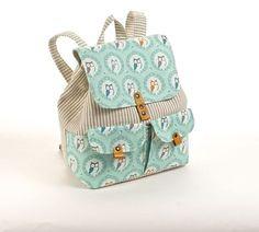 Workshop sobre têxteis mochila ~ KudryaArt. sacos de direitos autorais e mochilas.