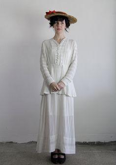 1910s Edwardian Gown