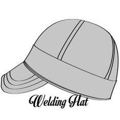 Old Glory Welding Hat - High Desert Welding Hats   Caps 5bb849512bf8