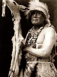 Hupa Dancer, 1923. Edward Sheriff Curtis Photography