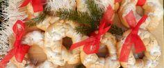 Recept Vánoční špaldové věnečky 20 Min, Christmas Wreaths, Holiday Decor, Recipes, Holiday Burlap Wreath, Rezepte, Food Recipes, Recipies, Recipe