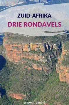 Aan de Panoramaroute liggen de Drie Rondavels. De Drie Rondavels zijn een bijzondere geologische vorm in de Blyde River Canyon Nature Reserve. Deze drie ronde heuvels hebben veel gelijkenissen met de traditionele hutten van de Xhosa-stam. Lees je mee over de Drie Rondavels? #drierondavels #panoramaroute #zuidafrika #jtravel #jtravelblog