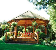 Build your own Backyard Gazebo - Extreme How To - View All