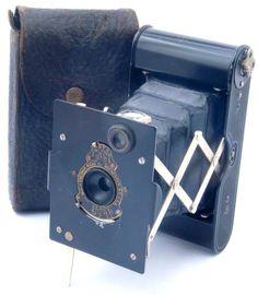 Kodak Vest Pocket Autographic Folding 127 Roll Film Camera - USA c1915
