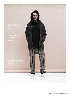 PUVA blouse LONDON jacket SPONTE trousers D.A.U. collection   http://nenukko.com/shop/