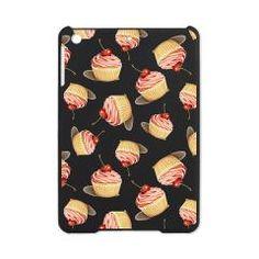 Adorable iPad Mini Case from Patricia Shea: Perfect Pink Cupcakes iPad Mini Case > Just Mini iPad covers > Patricia Shea Designs