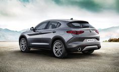 Here's Our First Look at the Alfa Romeo Stelvio SUV in Non-Quadrifoglio Form - Photo Gallery of Car News from Car and Driver - Car Images - Car and Driver
