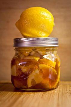 For a sore throat - cut up 2 lemons drop in small mason jar, pour raw honey over til it fills up about 1/3 of jar. You'll see juice from the lemon being drawn out by the honey & swirling together. Let sit in fridge, over the next few weeks lemon will darken & the mixture will thicken. The peels & pulp break down as well & leave behind a golden, lumpy marmalade that you can scoop into a cup & poor piping hot water over Add Cinnamon and Ginger for more Antibacterial fighting Goodness