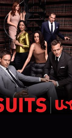 Created by Aaron Korsh.  With Gabriel Macht, Patrick J. Adams, Meghan Markle, Sarah Rafferty. On the run from a drug deal gone bad, Mike Ross, a brilliant college-dropout, finds himself a job working with Harvey Specter, one of New York City's best lawyers.