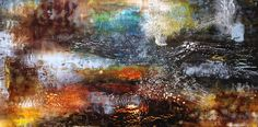 Vestiges by Chris Foster Encaustic and Oil on Wood Panel Wood Paneling, Contemporary Artists, Art Gallery, Oil, Frame, Creative, Artwork, Painting, Inspiration