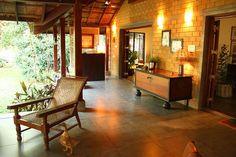 Casa Rojo is designed by Chennai based Benny Kuriakose - Benny Manado, House Architecture Styles, Kerala Architecture, Vernacular Architecture, Tropical Architecture, Architecture Interiors, Architecture Plan, Traditional Porch, Traditional Ideas