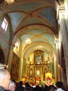 San Agustin Church 1580, Quito, Ecuador