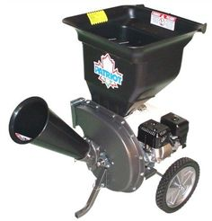 Patriot Products CSV-2540H 4 HP OHV Honda GX Gas-Powered Wood Chipper/Leaf Shredder > Powered by the easy starting and smooth running Honda GX 4 hp engine. Processes branches up to 2-1/2 inches in diameter. Easily shreds leaves into tiny pieces ideal for composting and mulching.