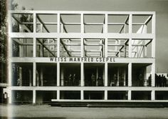 Bauhaus Style, Facades, Budapest, Modern Architecture, Spaces, Contemporary, History, News, Art