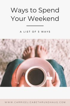 It is completely okay to take some time to relax and take things easy so you can recover and refocus these 5 things are perfect ways to spend your weekends. Join A Gym, How To Get Sleep, Ways To Relax, Focus On Yourself, 5 Things, Make Me Happy, 5 Ways, Carrie, At Home Workouts