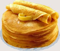 Panquecas finas sem ovos - Crazy for Cooking - Delicious Pancakes Snack Recipes, Cooking Recipes, Snacks, Cooking Food, Sweet Pastries, Russian Recipes, Galette, Saveur, No Bake Desserts