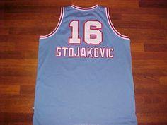 3fc85ec4f Reebok NBA 1985-86 Sacramento Kings Peja Stojakovic  16 Blue Swingman Jersey  2XL