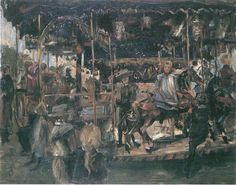 Lovis Corinth (1858 – 1925) - Karussel (1903)