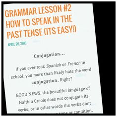 Great little blog for learning Haitian Creole  I love this #language #haiti #haitiancreole Polyglot language tips
