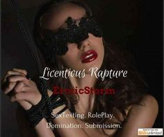 #Licentious Rapture 1 Book 3 Sexy Steamy Stories To.. You Know Satisfy You!!  WARNING: Adult Scenes along with very Spicy Content. Eroticstorms style of writing is very detailed and descriptive. Especially the sexual content. Adults Only!  A Little Tease.