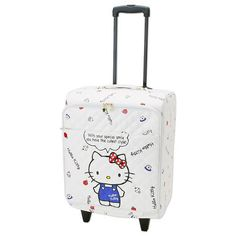 NEW Japanese Sanrio Hello Kitty Travel Carry Case Bag from JAPAN White