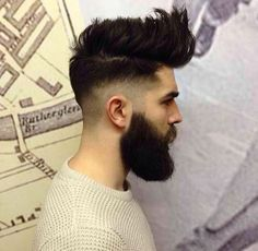 Chris John Millington I need to grow a beard Hair And Beard Styles, Short Hair Styles, Chris Millington, Chris John, High Fade Haircut, Look Man, Beard Tattoo, Moustaches, Great Hair