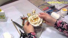 """Мастер-класс """"Роза за заре"""" (необходимые материалы) ❤ https://www.youtube.com/watch?v=YTZ2rtuD_-E"""