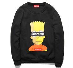 SUPREME Bart Simpson Sweatshirt