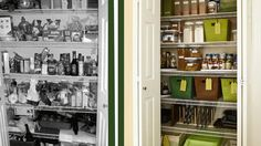 Learn the seven essentials you need to get an organized pantry.  /