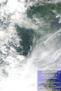 Chesapeake MODIS Satellite Imagery and Data