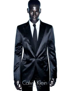David Agbodji - Model from Togo. #CalvinKlein #Sartorial
