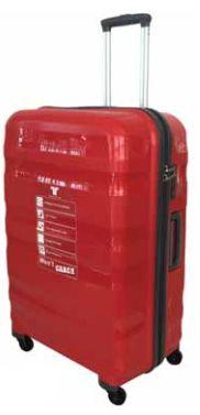 Tosca Flite PP spinner Trolley Case Trolley Case, Black Dark, Travel Packing, Specs, Locks, Divider, Handle, Coding, Zip