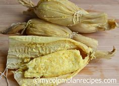 Bollos de Mazorca (Steamed Fresh Corn Rolls)