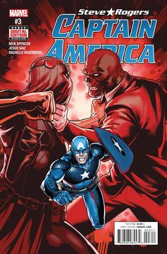 MARVEL COMICS (W) Nick Spencer (A/CA) Jesus Saiz • Hydra vs. Hydra! The Red Skull vs. Zemo, with Captain America caught in the crossfire. • The trial of Maria Hill begins. Rated T+