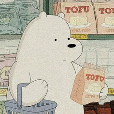 ᥊꩝ᥱᥣ͠ᥡ🌼ིི ུ - Cartoon Videos Kids For 2019 Foto Cartoon, Cartoon Icons, Cartoon Characters, Ice Bear We Bare Bears, We Bear, Bear Wallpaper, Kawaii Wallpaper, Polar Bear Cartoon, Arte Do Hip Hop
