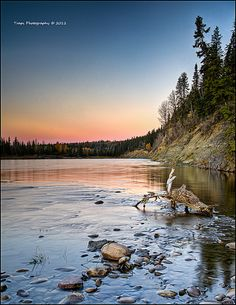 Red Deer River, Alberta, Canada