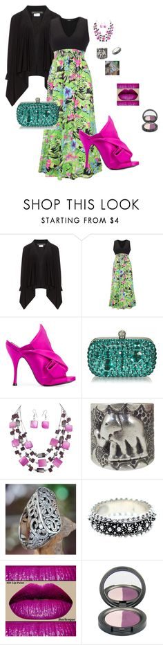 """""""Jungle"""" by lheier on Polyvore featuring Champagne, WithChic, N°21 and NOVICA"""