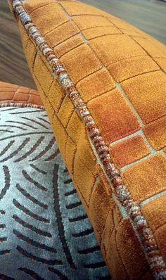 Romo cushions orange