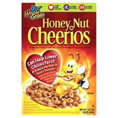 Honey Nut Cheerios - While the regular cheerios is a bit healthier for you, Honey Nut still isnt bad (and better for you than a whole lot of cereals) and is actually quite palatable to me