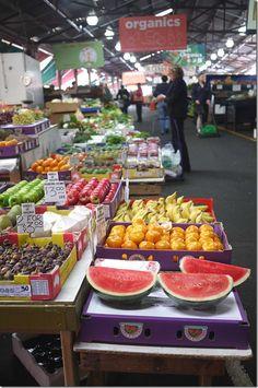 BEEN HERE!!! Fresh fruit markets, Queen Victoria Market, Melbourne