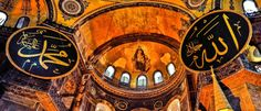 Agia Sophia Constantinople / Istanbul 9 L by...  religion church architecture art holy dome mosaic holy place Byzantine church Agia Sophia Istanbul T