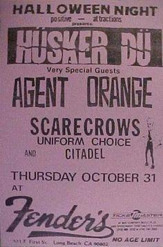 Husker Du/Agent Orange