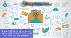 Email #Marketing can even do routine tasks for you, freeing you to focus on running your #business. #Stickymarketers Stickymarketers.com