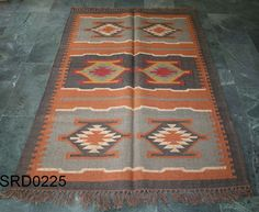 Vintage Turkish Oushak Kilim Wool Jute Area Rug Runner Carpet 4 Feet X 6 Feet #Turkish