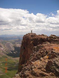 Uncompahgre Summit near Lake City Colorado.
