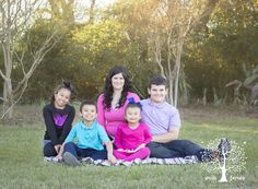 mother with four children photo session
