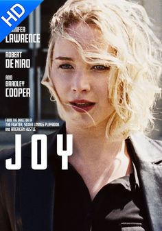 Directed by David O. With Jennifer Lawrence, Robert De Niro, Bradley Cooper, Edgar Ramirez. Joy is the story of the title character, who rose to become founder and matriarch of a powerful family business dynasty. Latest Movies, New Movies, Movies Online, Movies And Tv Shows, Watch Movies, 2017 Movies, Film Watch, Drama Movies, Bradley Cooper