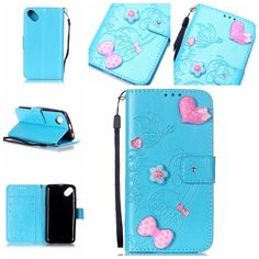 For Wiko Sunset 2 Cases Flower Stick Diamond Flip PU Leather Cover TPU Case For Wiko Sunset 2 Phone Cases Card Holder