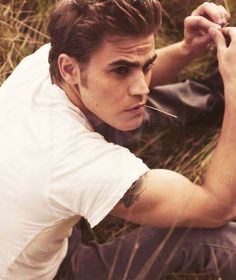 Paul Wesley- the new love of my life. my god!